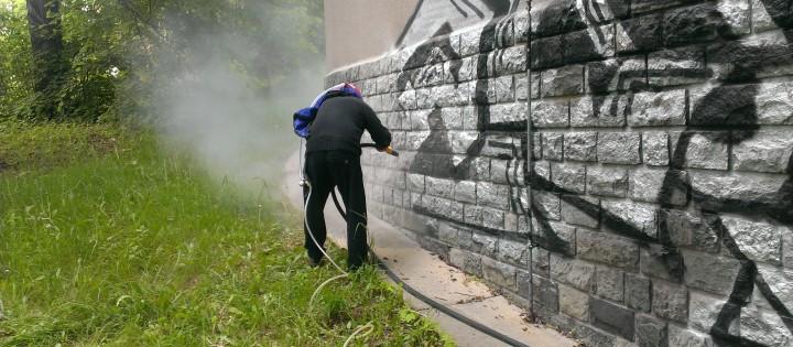 Odstraňování graffiti vandalismu Praha