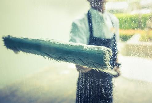 Praha mytí oken